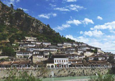 Albania-Berat-Houses
