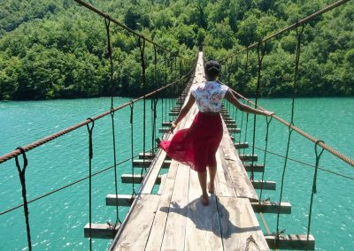 Bridge in north Albania
