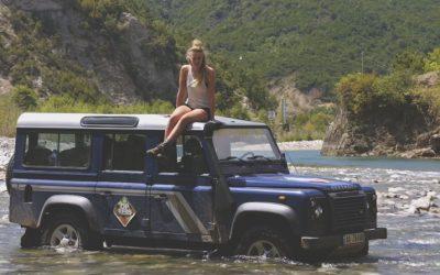 Geraldine Kemper & 3 Op Reis Off Road in Albanië (yes, that's Albania)
