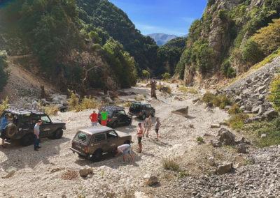 Albania Nivice to Kuc River bed