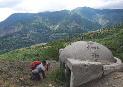 Albania_Trekiking_Bunker
