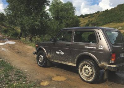 Lada-in-mud